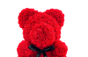 ours en roses rouges